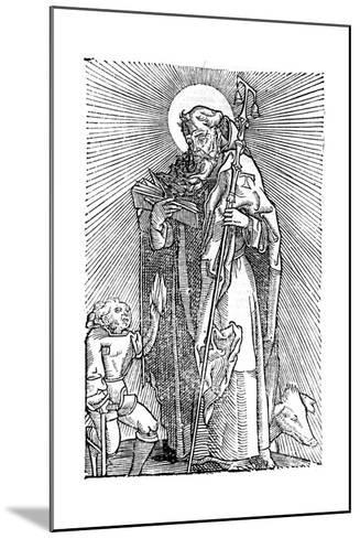 St Anthony the Great, Egyptian Aesthetic--Mounted Giclee Print