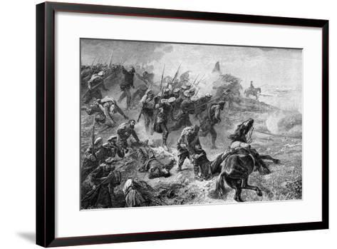 Attack of Basque Carlists During the Revolt of 1872-1876--Framed Art Print