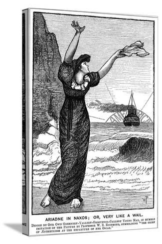 Ariadne in Naxos; Or, Very Like a Wail, 1882--Stretched Canvas Print