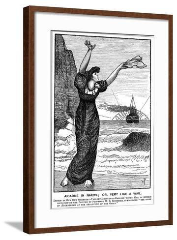 Ariadne in Naxos; Or, Very Like a Wail, 1882--Framed Art Print