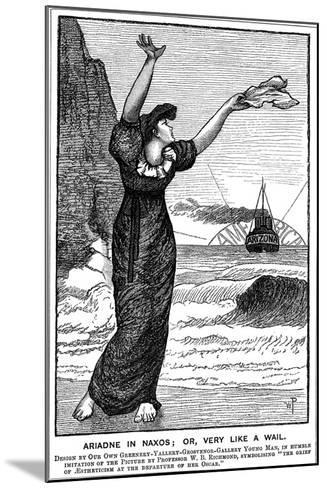Ariadne in Naxos; Or, Very Like a Wail, 1882--Mounted Giclee Print
