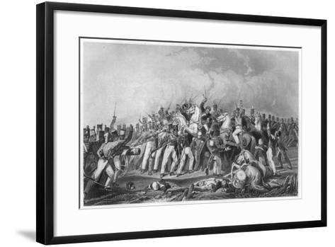 Defeat of the Sealkote Mutineers by General Nicholson's Column, 1857--Framed Art Print