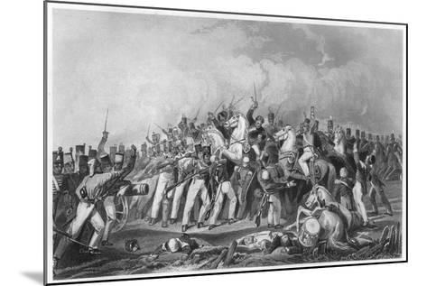 Defeat of the Sealkote Mutineers by General Nicholson's Column, 1857--Mounted Giclee Print
