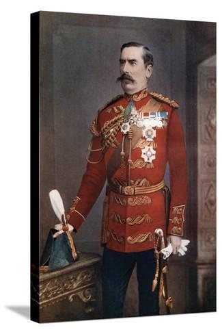 Lieutenant-General Sir Baker Creed Russell, Commanding Southern District, 1902-Maull & Fox-Stretched Canvas Print