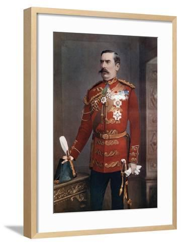 Lieutenant-General Sir Baker Creed Russell, Commanding Southern District, 1902-Maull & Fox-Framed Art Print