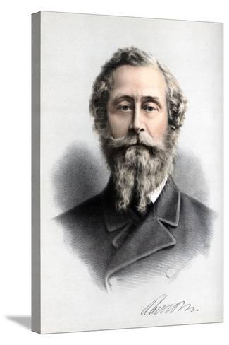 James Hamilton, 1st Duke of Abercorn, British Conservative Politician, C1890-Petter & Galpin Cassell-Stretched Canvas Print