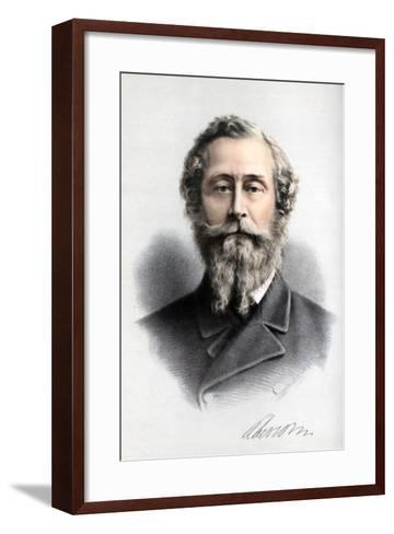 James Hamilton, 1st Duke of Abercorn, British Conservative Politician, C1890-Petter & Galpin Cassell-Framed Art Print