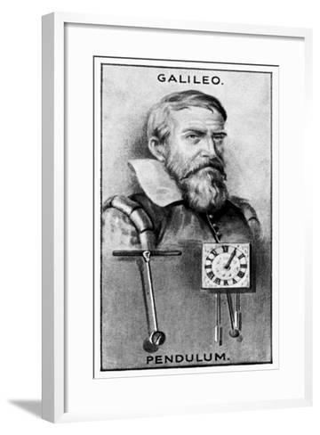 Galileo Galilei, Italian Physicist, Astronomer, and Philosopher--Framed Art Print