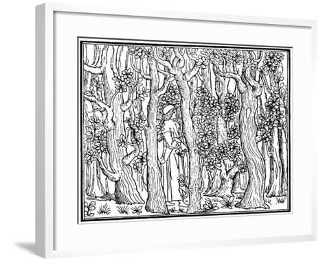 The Lover in the Wood, 1499--Framed Art Print