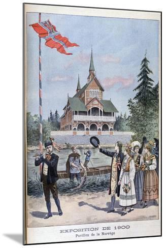 The Norwegian Pavilion at the Universal Exhibition of 1900, Paris, 1900--Mounted Giclee Print