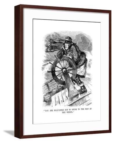 George Gordon, 4th Earl of Aberdeen (1784-186), Scottish Statesman, 1854--Framed Art Print
