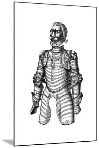 Armour Ornamented with Lions, Supposed to Be That of Of Louis XII, 15th Century--Mounted Giclee Print