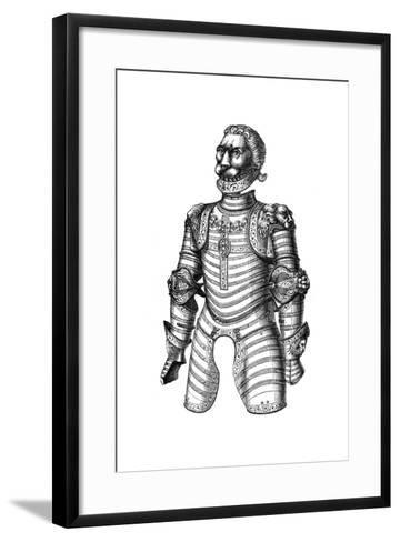 Armour Ornamented with Lions, Supposed to Be That of Of Louis XII, 15th Century--Framed Art Print