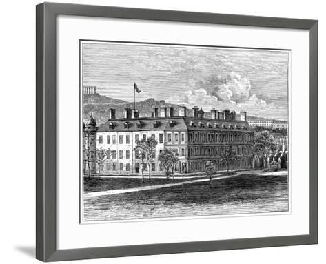 Holyrood Palace from the South-East, Edinburgh, 1900--Framed Art Print