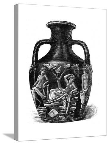 The Portland Vase, 1891--Stretched Canvas Print