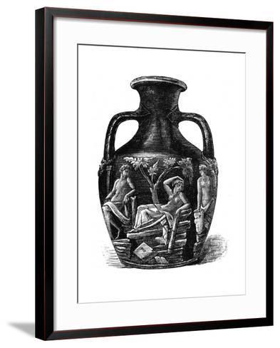 The Portland Vase, 1891--Framed Art Print