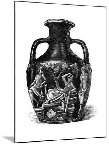 The Portland Vase, 1891--Mounted Giclee Print