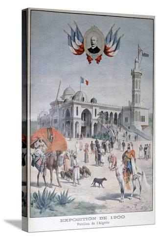 The Algerian Pavilion at the Universal Exhibition of 1900, Paris, 1900--Stretched Canvas Print