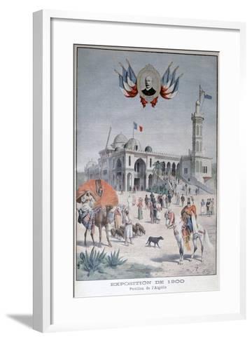 The Algerian Pavilion at the Universal Exhibition of 1900, Paris, 1900--Framed Art Print