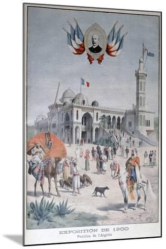 The Algerian Pavilion at the Universal Exhibition of 1900, Paris, 1900--Mounted Giclee Print