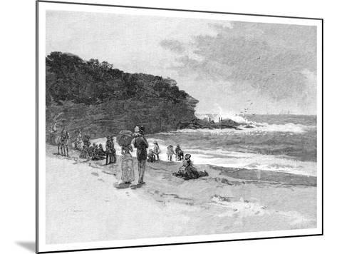 Coogee Beach, Sydney, New South Wales, Australia, 1886--Mounted Giclee Print