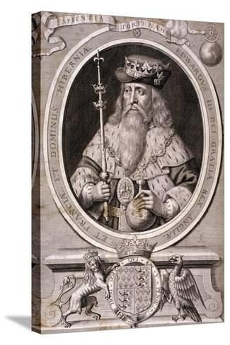 Edward III, King of England, C1370--Stretched Canvas Print