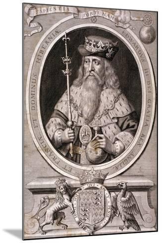 Edward III, King of England, C1370--Mounted Giclee Print