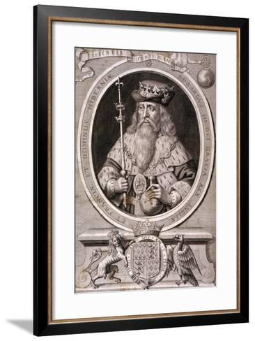 Edward III, King of England, C1370--Framed Art Print
