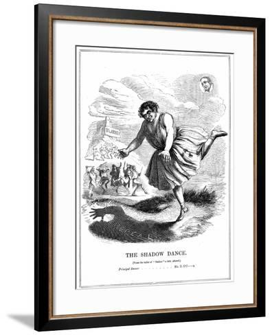 The Shadow Dance, 1843--Framed Art Print