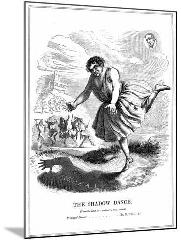 The Shadow Dance, 1843--Mounted Giclee Print