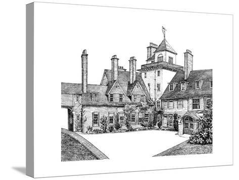 The Court Yard, Standen, East Grinstead, 1900--Stretched Canvas Print