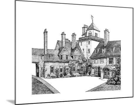 The Court Yard, Standen, East Grinstead, 1900--Mounted Giclee Print