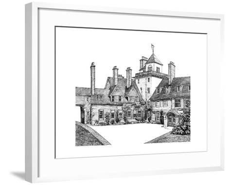 The Court Yard, Standen, East Grinstead, 1900--Framed Art Print