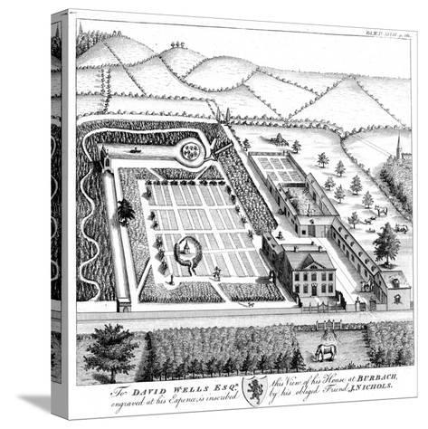 Gentleman's Model Country Estate, C1750--Stretched Canvas Print