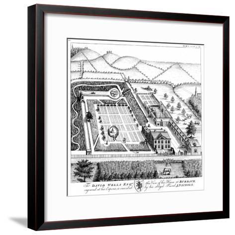 Gentleman's Model Country Estate, C1750--Framed Art Print