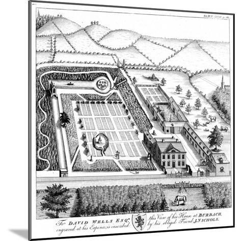 Gentleman's Model Country Estate, C1750--Mounted Giclee Print