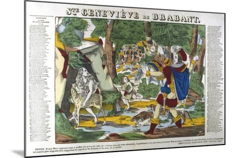 St Genevieve of Brabant in the Forest, 19th Century--Mounted Giclee Print