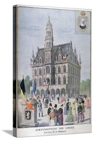 The Belgium Pavilion at the Universal Exhibition of 1900, Paris, 1900--Stretched Canvas Print