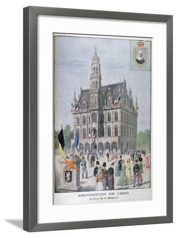 The Belgium Pavilion at the Universal Exhibition of 1900, Paris, 1900--Framed Art Print