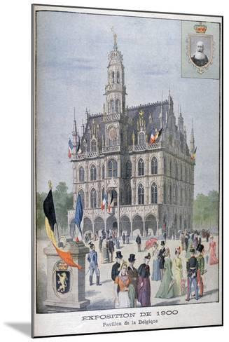 The Belgium Pavilion at the Universal Exhibition of 1900, Paris, 1900--Mounted Giclee Print