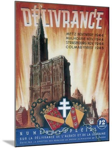 World War 2: Deliverance!, 1945--Mounted Giclee Print