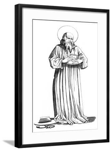 St Bonaventure, (1221-127), 15th Century-Jean Fiesole-Framed Art Print