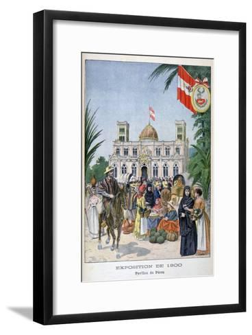 The Peruvian Pavilion at the Universal Exhibition of 1900, Paris, 1900--Framed Art Print