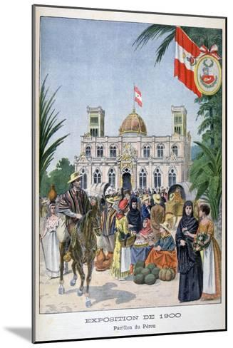 The Peruvian Pavilion at the Universal Exhibition of 1900, Paris, 1900--Mounted Giclee Print