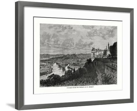 Prospect from the Terrace at St Germain, France, 1879--Framed Art Print
