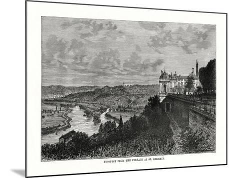 Prospect from the Terrace at St Germain, France, 1879--Mounted Giclee Print