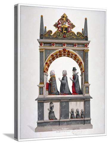 Monument to Alderman Richard Humble and Family, St Saviour's Church, Southwark, London, C1700--Stretched Canvas Print