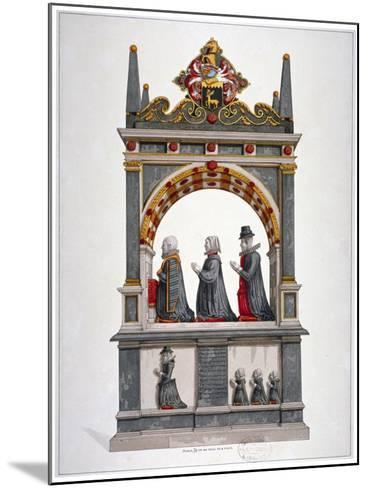 Monument to Alderman Richard Humble and Family, St Saviour's Church, Southwark, London, C1700--Mounted Giclee Print