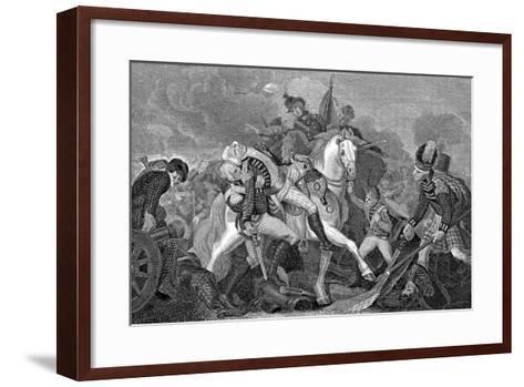 Ralph Abercromby (1734-180), Scottish General, at the Battle of Aboukir Bay, Egypt, 1801--Framed Art Print