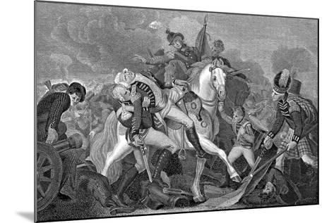 Ralph Abercromby (1734-180), Scottish General, at the Battle of Aboukir Bay, Egypt, 1801--Mounted Giclee Print